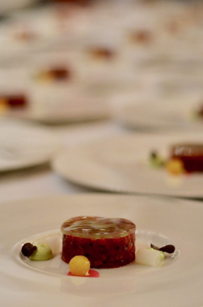 Relais & Châteaux Gourmetfestival: Tatar vom Seeseibling
